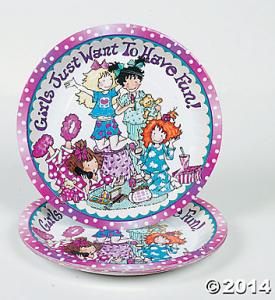 Slumber Party plates