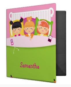 personalized school binder