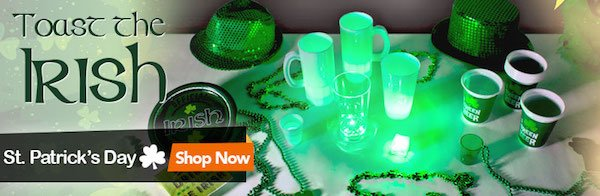 St Patrick's Day Party Supplies
