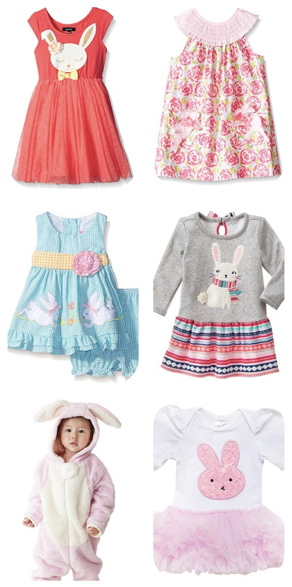 Bunny Dresses and Apparel for Easter