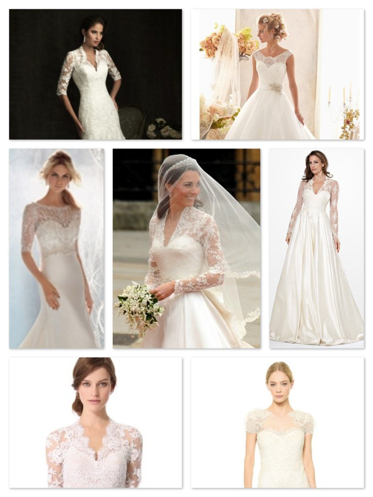 Kate Middleton Inspired Wedding Dresses