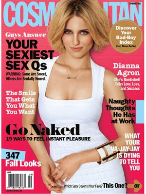 dianna argon cosmopolitan cover on the mark Stella & Dot arrow necklace