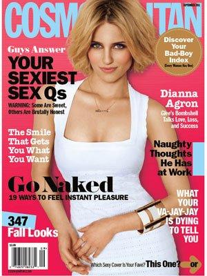 dianna argon cosmopolitan cover on the mark Stella & Dot arrow necklace