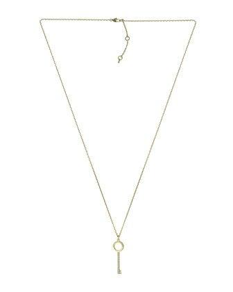 Michael Kors Pave-Key Pendant Necklace