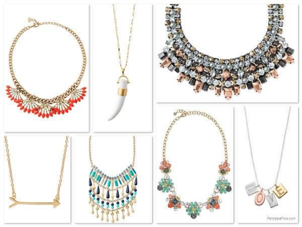 Stella & Dot Statement Necklaces