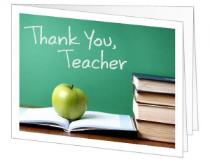 Amazon Teacher Thank You Gift Card