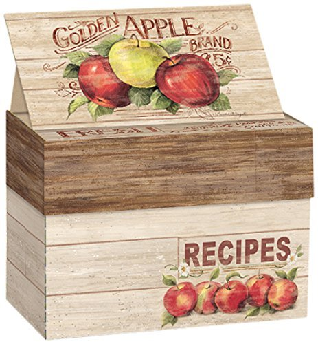 Apple Orchard Recipe Card Box