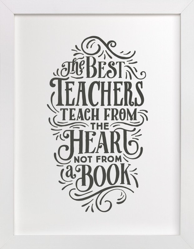 Best Teacher Art Print
