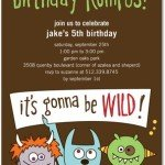 Birthday Rumpus Wild Thing Invitations