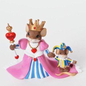 Charming Tails No Jest Mom You Rule Figurine