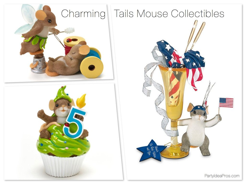 Charming Tails Mouse Collectibles