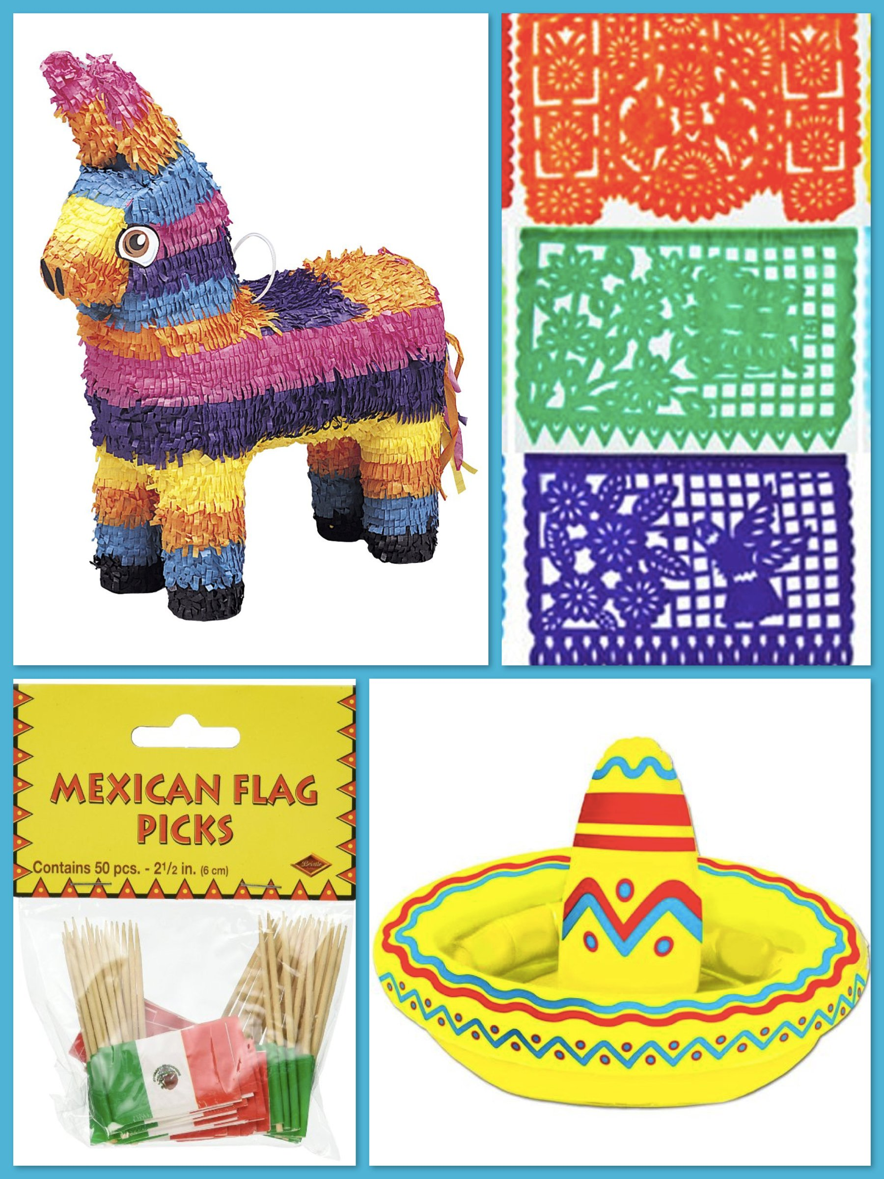 Cinco de Mayo Party Decor and Supplies