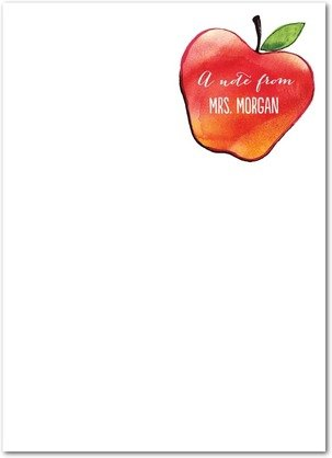 Fruitful Note Teacher Personalized NotePads