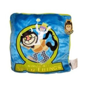 Where The Wild Things Are Blue King Mini Pillow