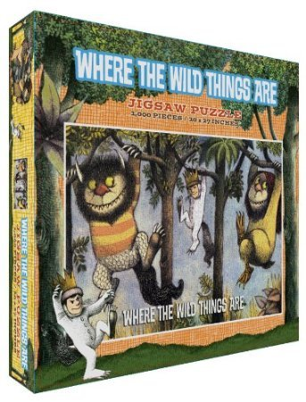 Where the Wild Things Are 1000 Piece Jigsaw Puzzle