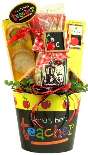 World's Best Teacher Gift Basket