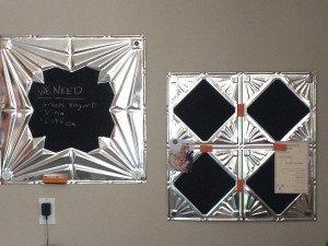 Chalkboard Ceiling Tiles