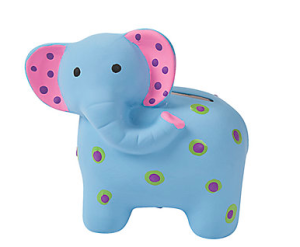 DIY Ceramic Elephant Banks