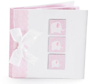 Elephant Baby Girl Photo Album