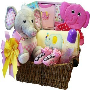 Ellie The Elephant Baby Gift Basket