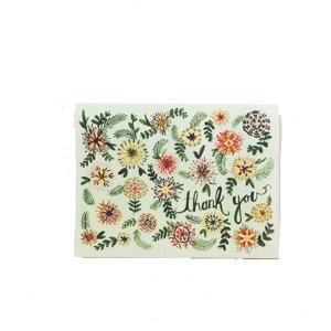 Folded Note Cards - Ella Mint Thank You