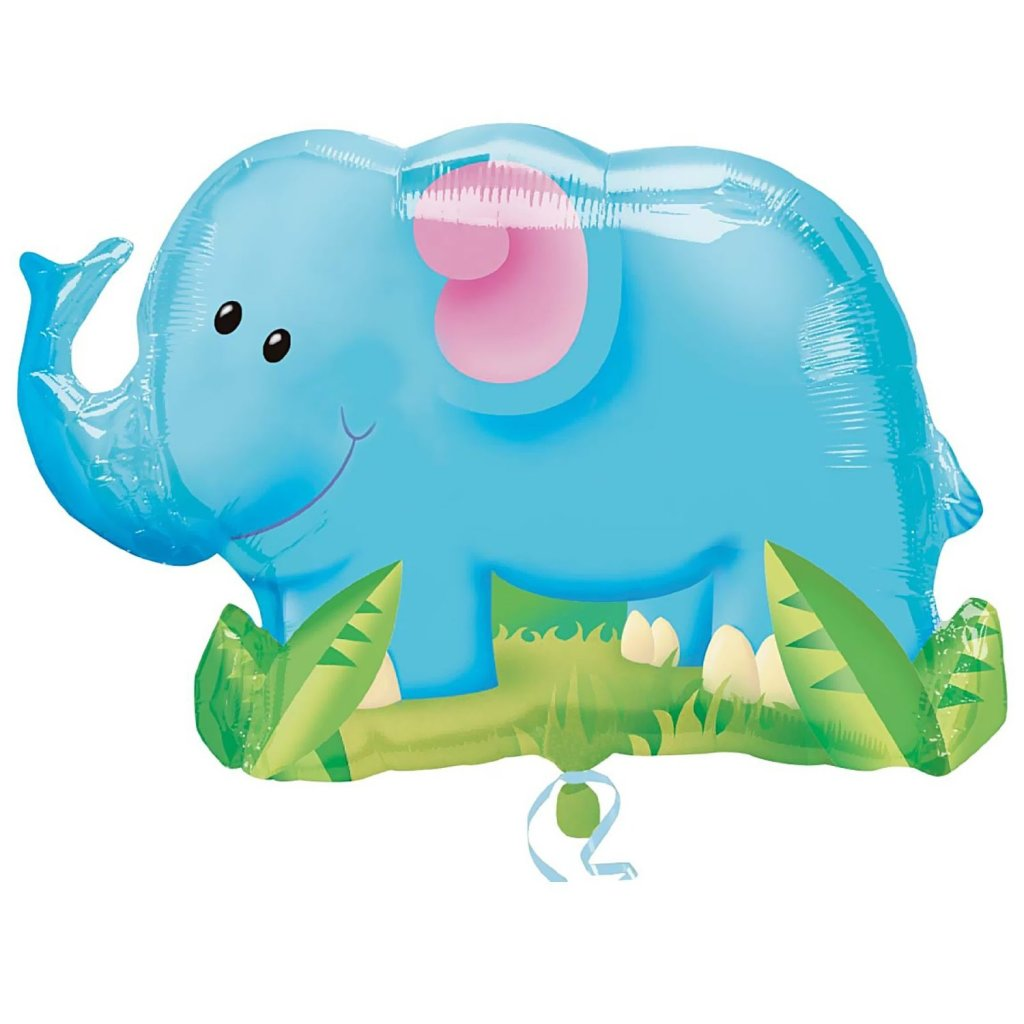 Giant Elephant Mylar Balloon