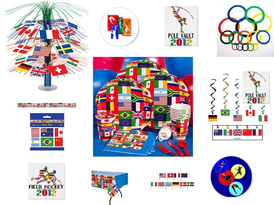 Event planning olympic party party invitations ideas for International party decor