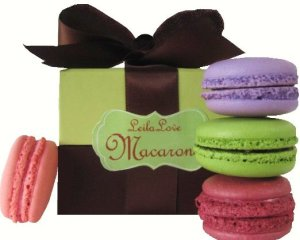 Leilalove Macarons in a lovely gift box