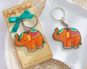 Lucky Elephant Elephant Key Ring