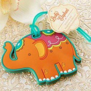 Lucky Elephant Luggage Tag