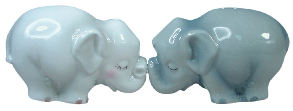 Magnetic Elephants Salt and Pepper Shaker
