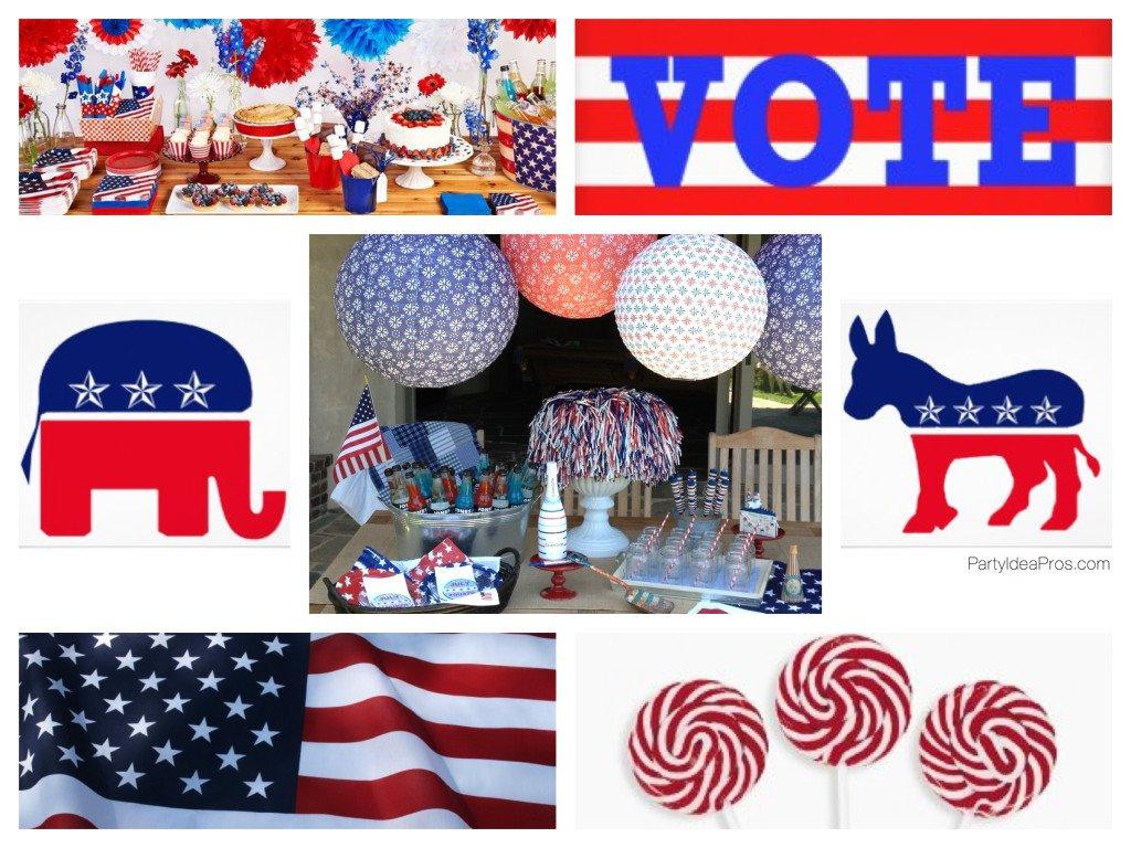 Political Events Party Planning, Ideas & Supplies
