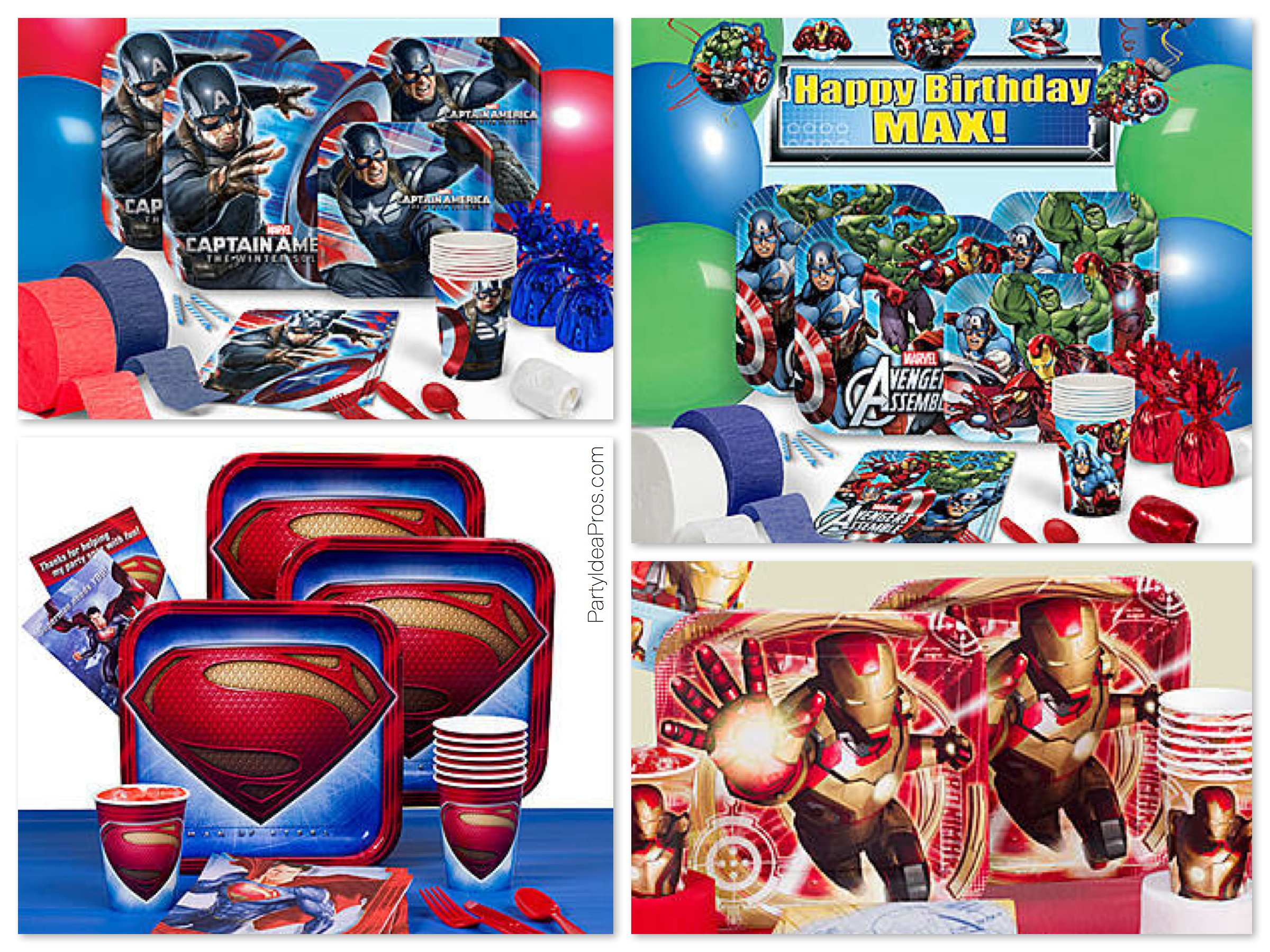 Superhero Party Packs