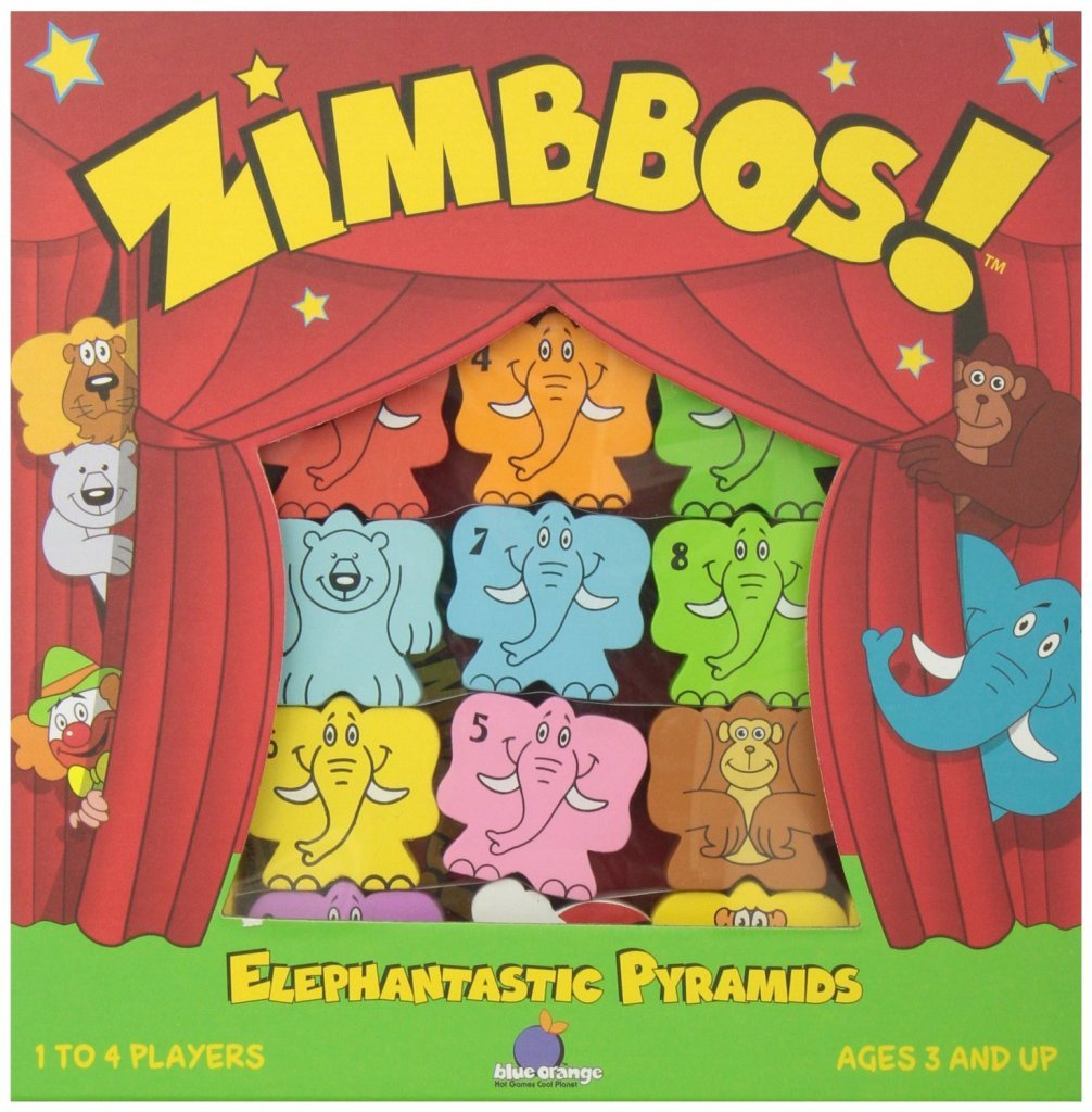 Zimbbos Elephant Party Game