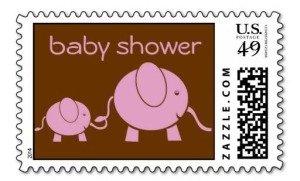 Baby Elephant & Mama Stamp