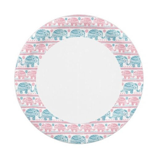 pink_and_teal_ethnic_elephant_pattern