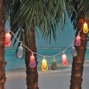 Flip flop party light set