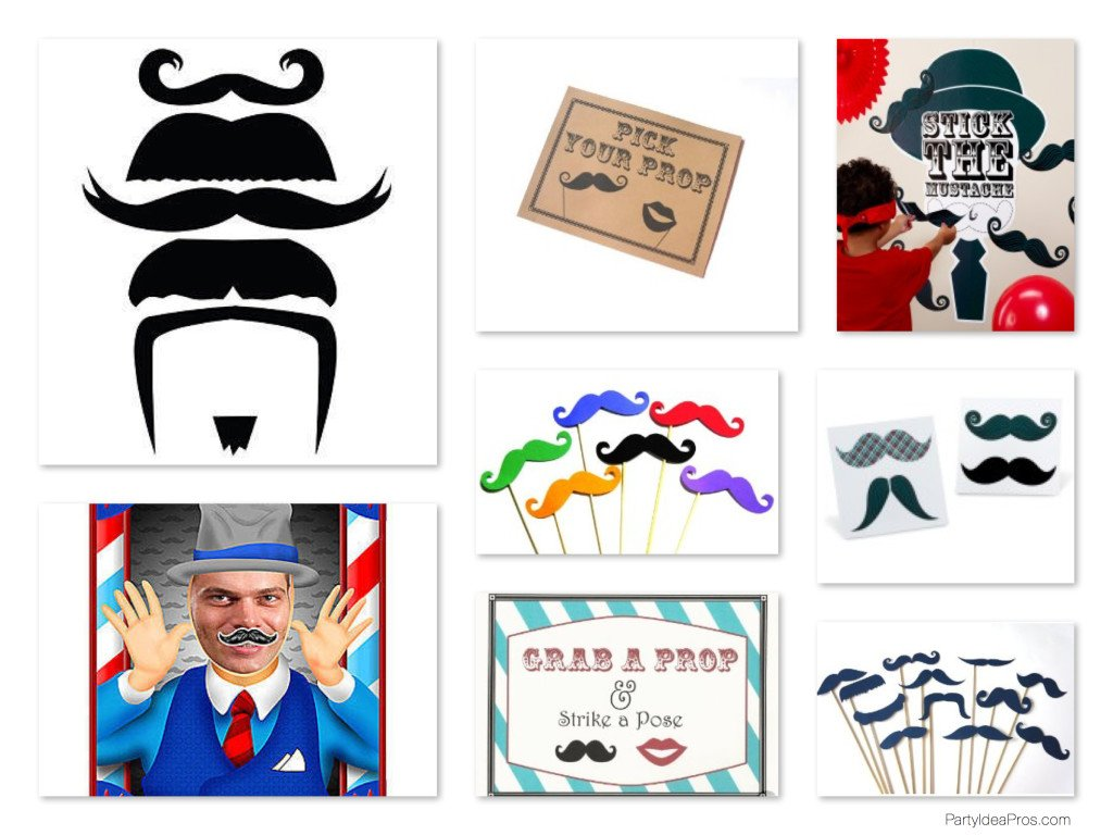 Mustache Bash Party Games & Activities