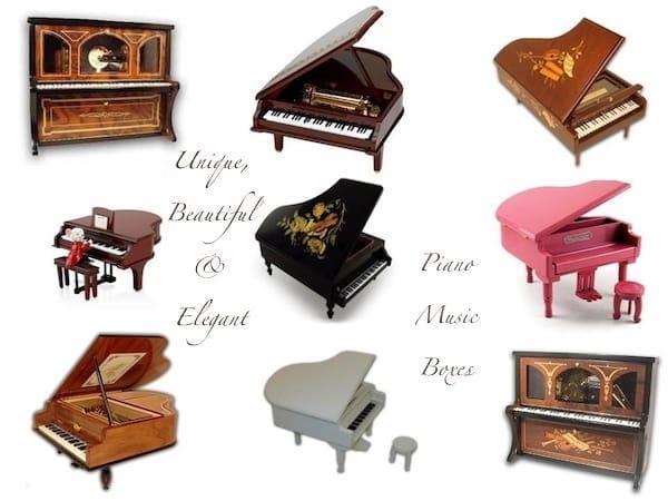 Piano Music Boxes