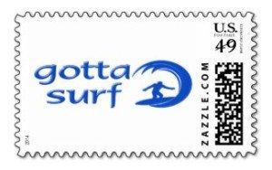 gotta surf postage