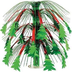 Christmas tree cascading center piece