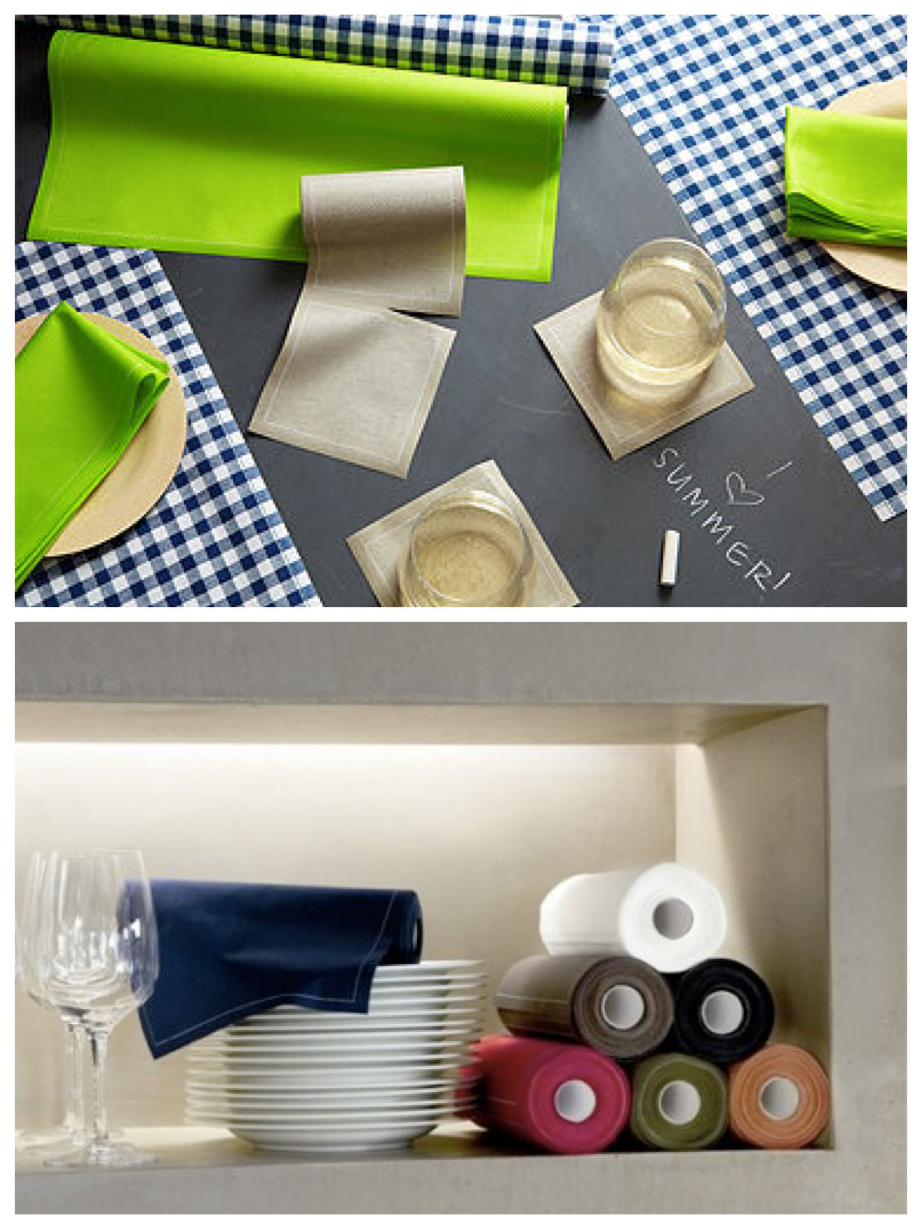 Delightful Disposables - MYdrap Cotton Table Linens