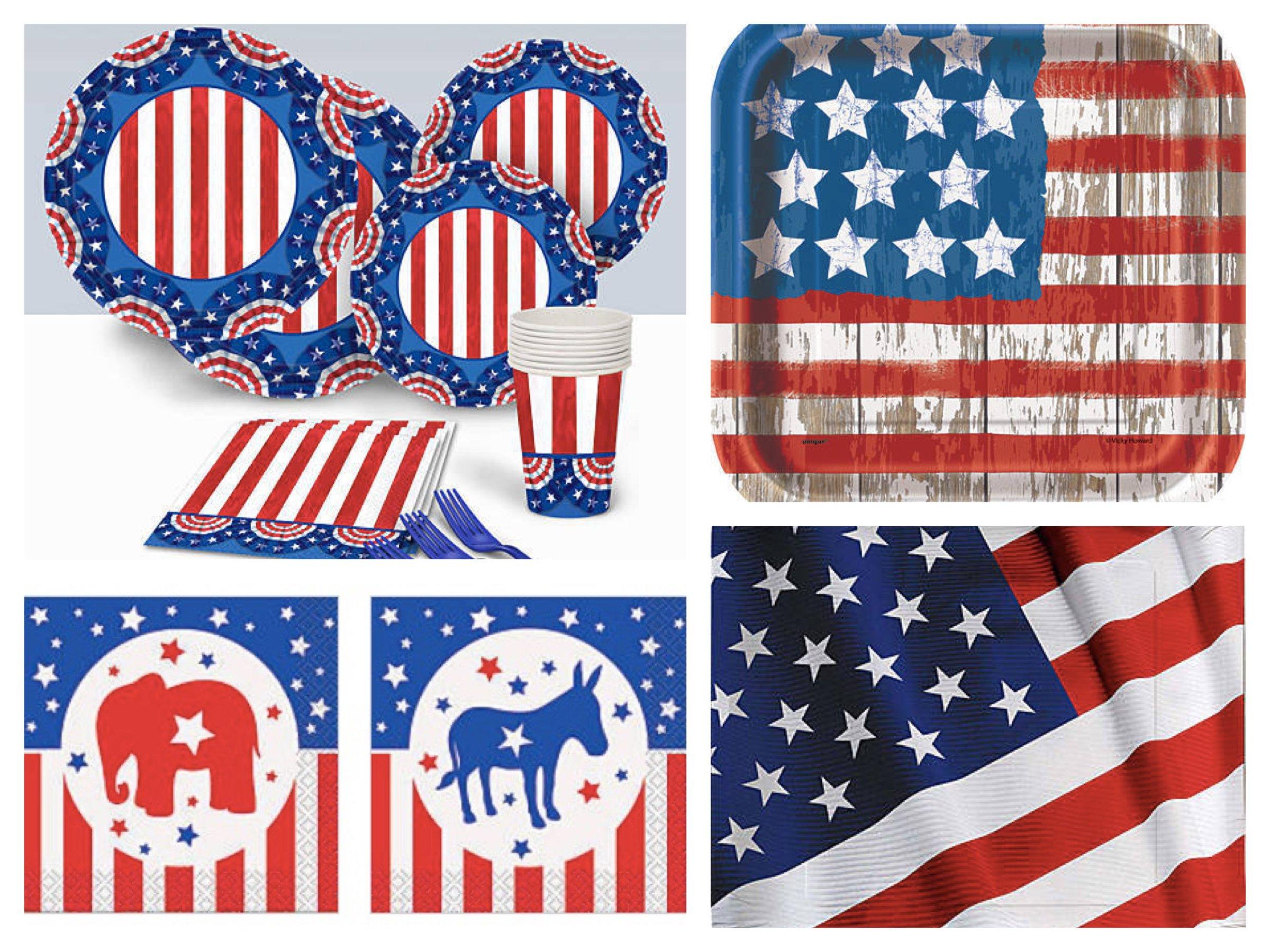 Patriotic Paper Goods