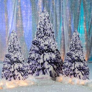 Snow tree winter decoration