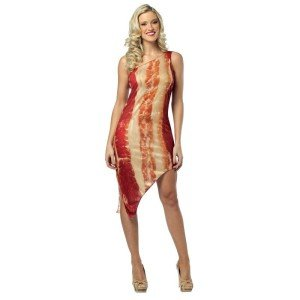 Bacon dress, bacon costume
