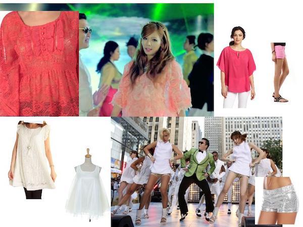 Gangnam Style Women Costume Ideas
