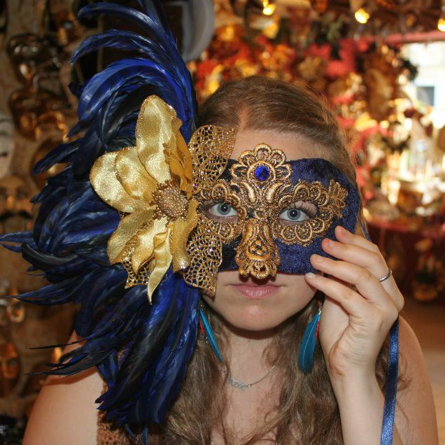 Venetian Mask Halloween Costume - Unique & Elegant!