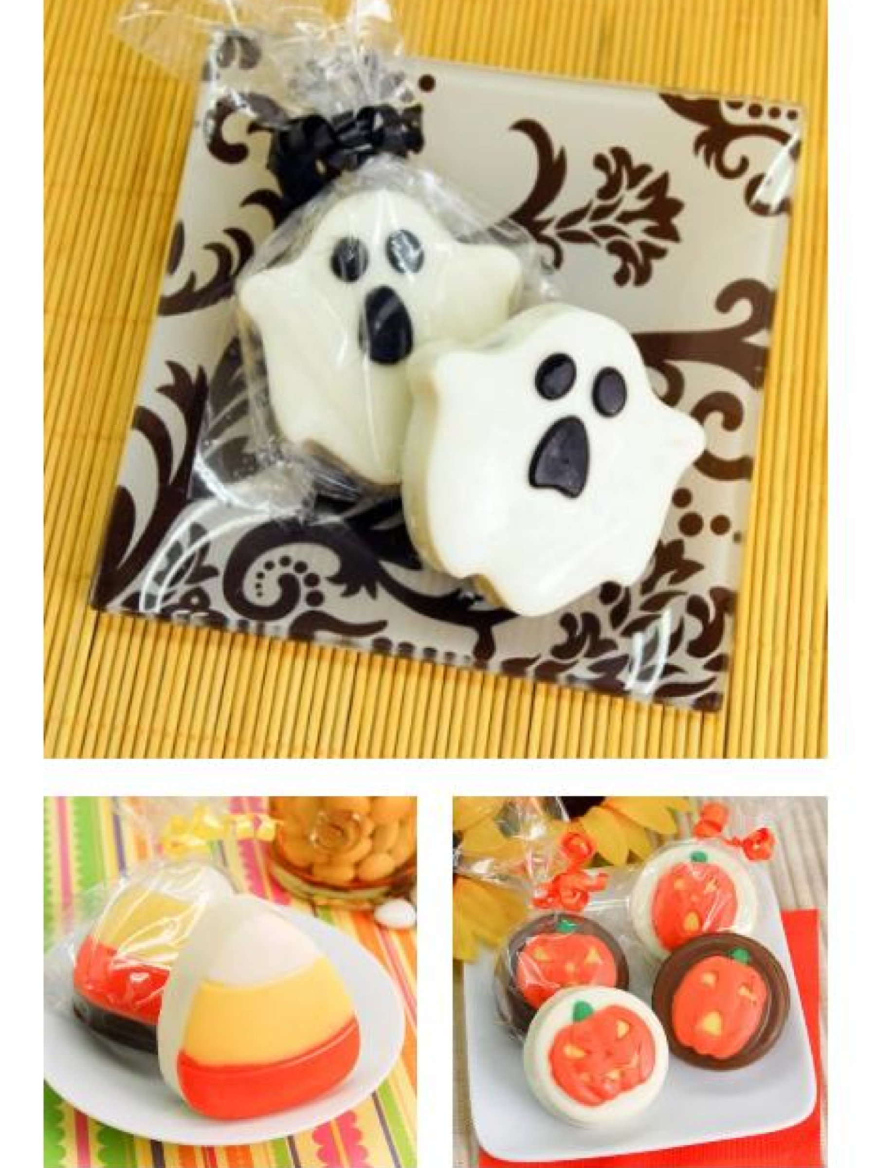 Halloween Party Favors – Chocolate Covered Oreos