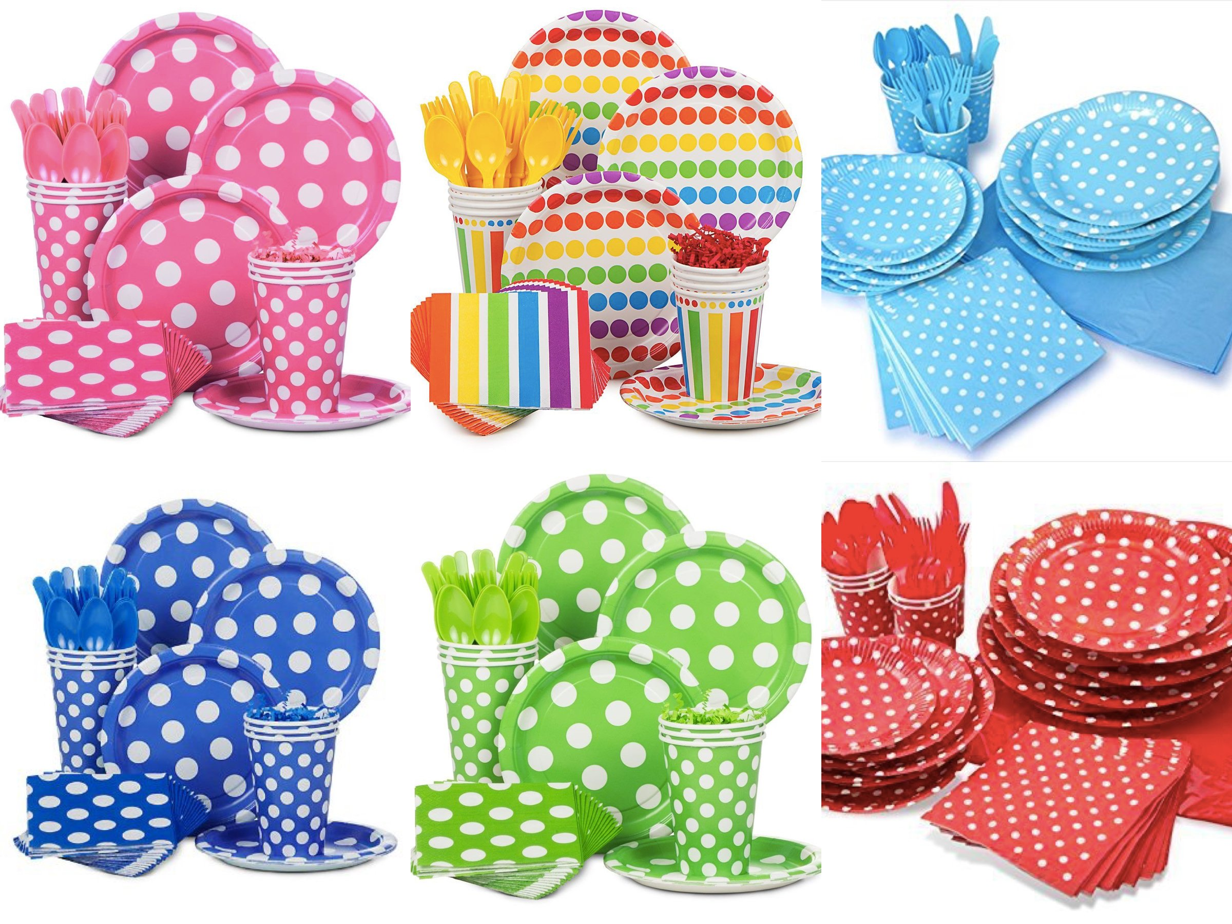 More Polka Dot Party Supplies