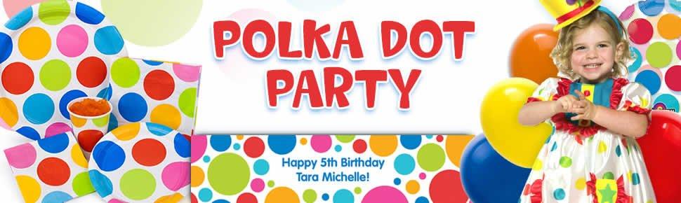 Polka Dot Party Supplies  sc 1 st  Party Idea Pros & Polka Dot Party Planning Ideas u0026 Supplies | Baby Showers u0026 Birthday ...